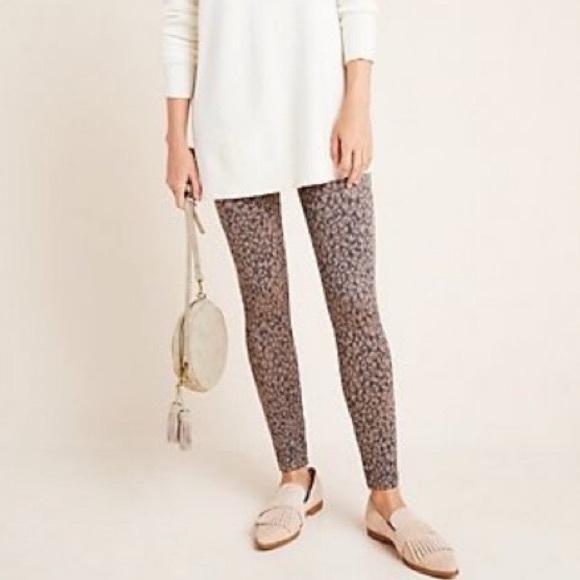 SPANX Pants - SPANX Mini Leopard Seamless Leggings